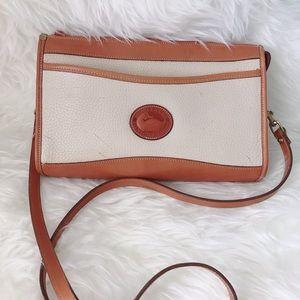 Dooney & Bourke Vintage Leather Zip Top Crossbody